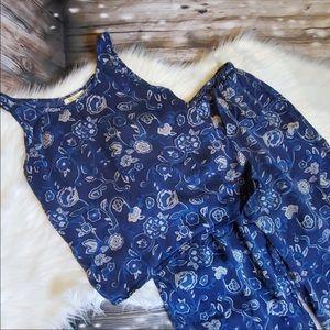 Vintage Victoria's Secret 100% silk pajama set.